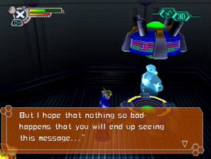 [Image of Dr. Light's capsule saying, 'I hope nothing so bad happens that you will end up seeing this message...']